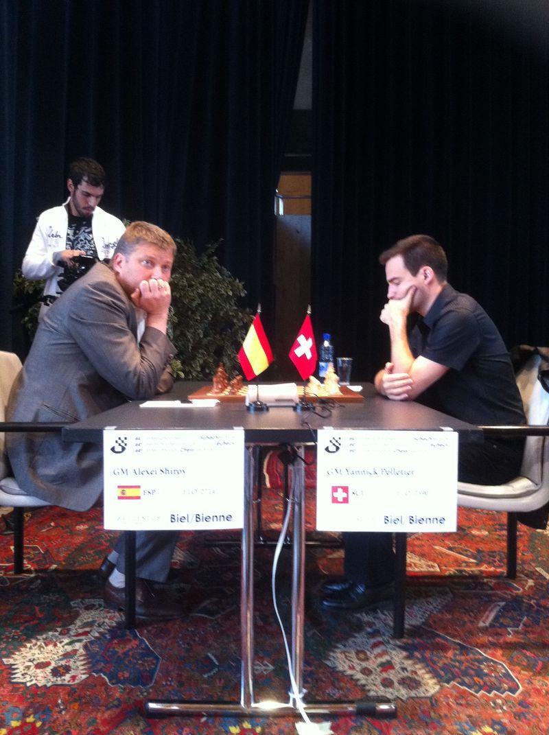 Festival d'échecs de Bienne, Maxime gagne Carlsen !
