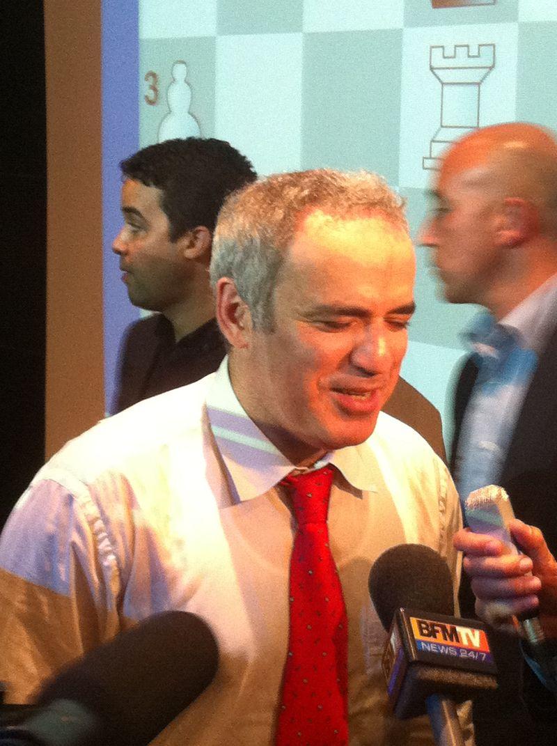 Kasparov à Clichy !