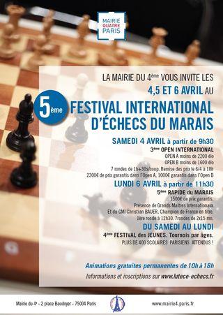 Affiche 5 Festival Marais