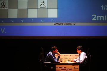 Anand - Kramnik, WCC ronde 2 : 0.5-0.5